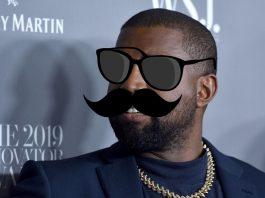 La máscara de Kanye West que se va a subir al cielo