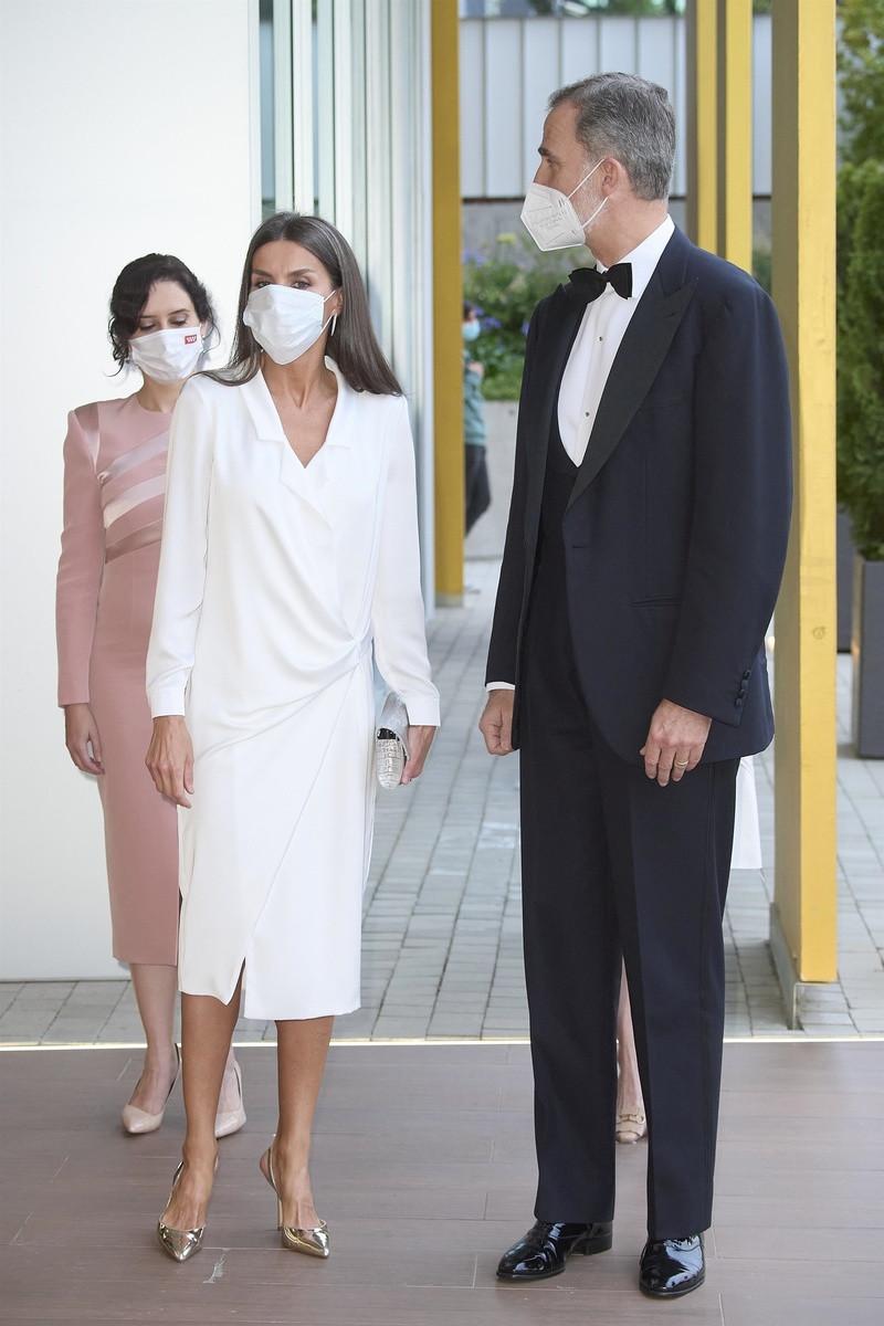 El vestido que Letizia y Angelina Jolie tienen igual