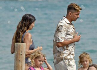 el hijo de simeone en Ibiza