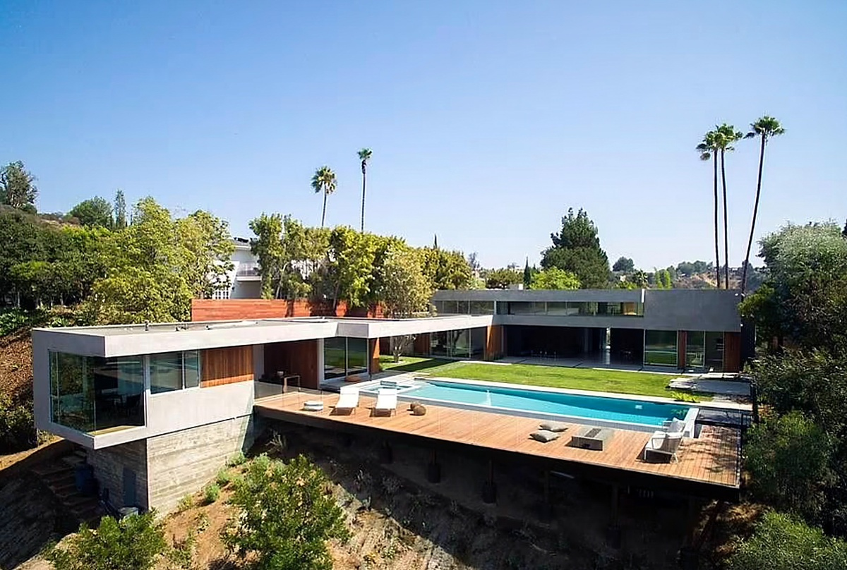 Conoce la mansión de Naomi Osaka en Beverly Hills