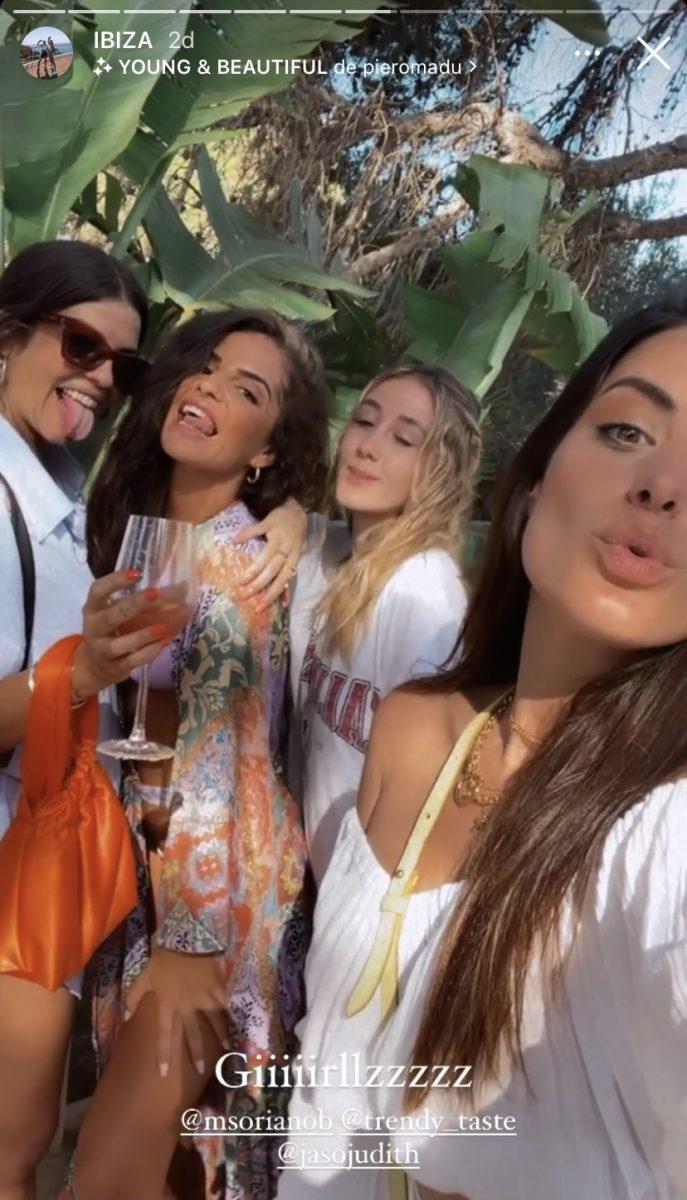 Dulceida viaja a Ibiza