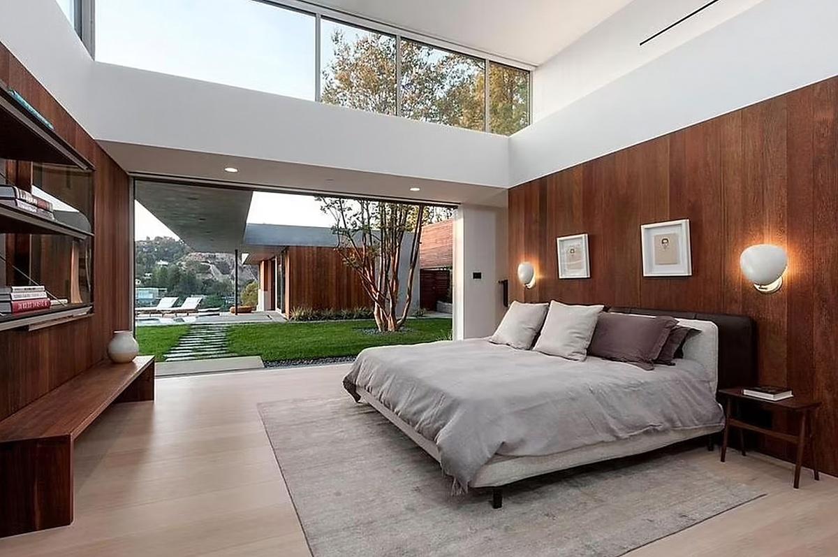 Habitaciones de la casa de Naomi Osaka en Beverly Hills