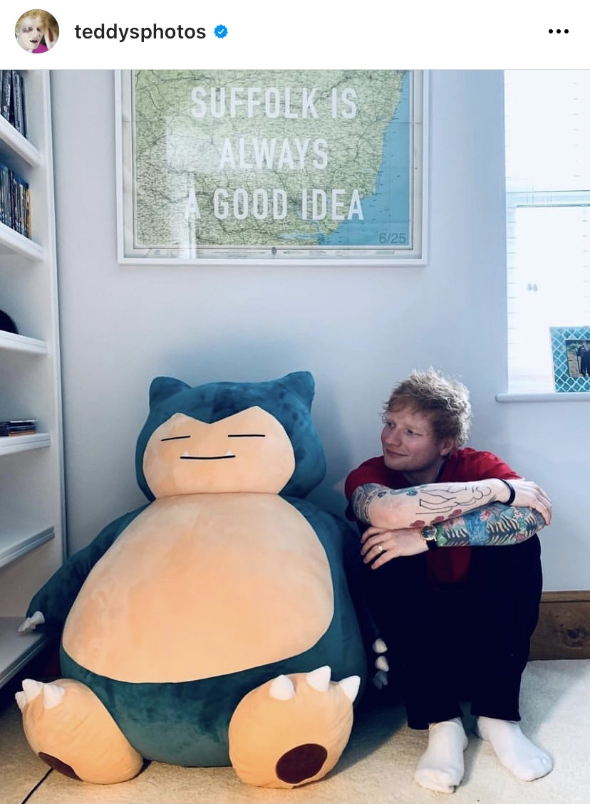 Ibai y Ed Sheeran