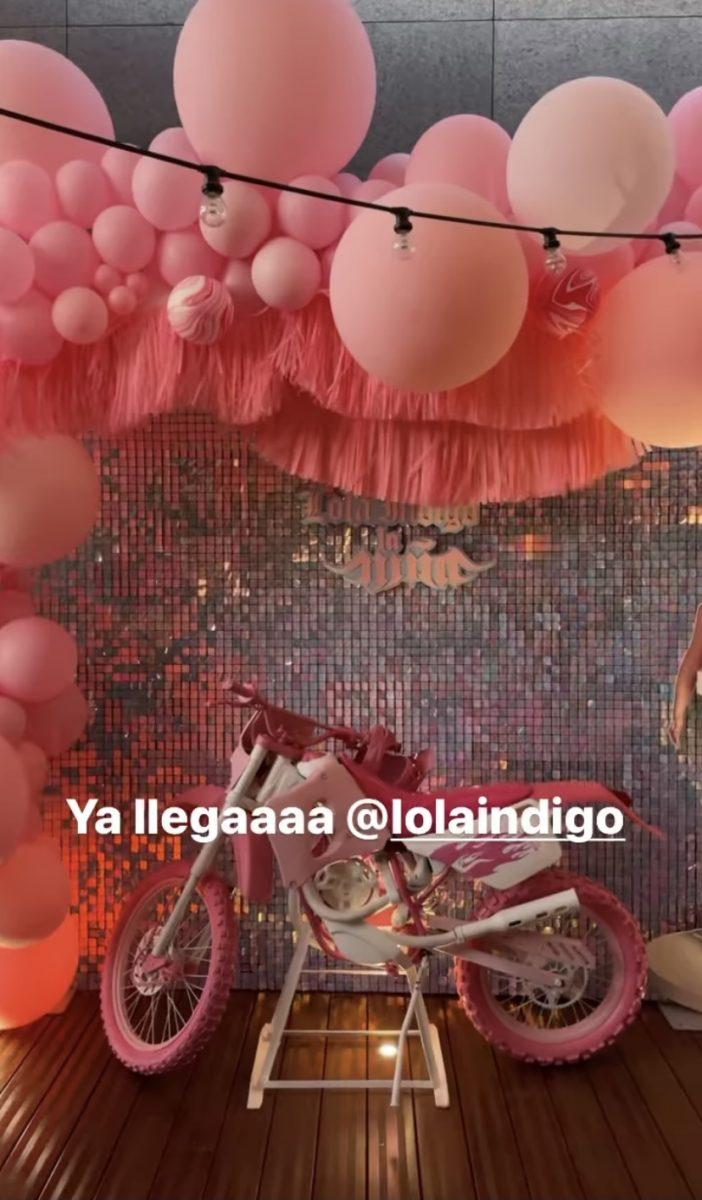 La fiesta de Lola índigo