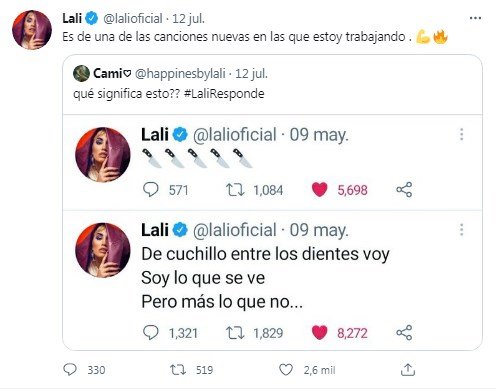 Lali Espósito contestó preguntas sobre nuevos proyectos y te contamos todo