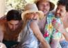 Lali Espósito en Ibiza con sus amigos