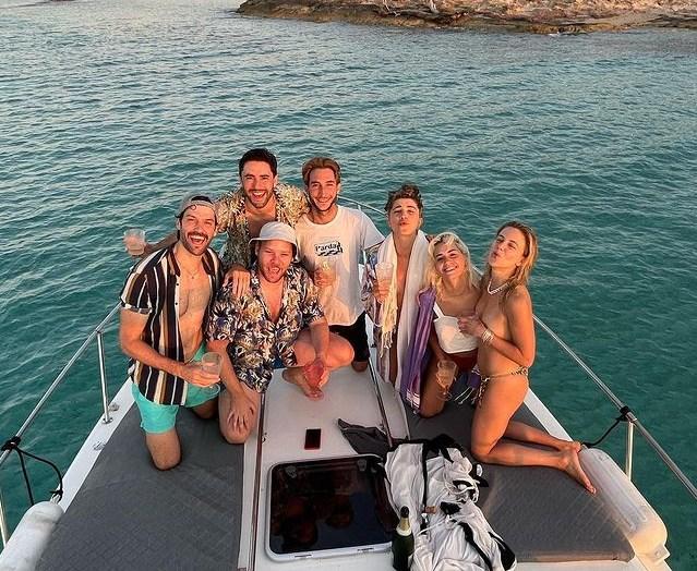 Lali Espósito en Ibiza