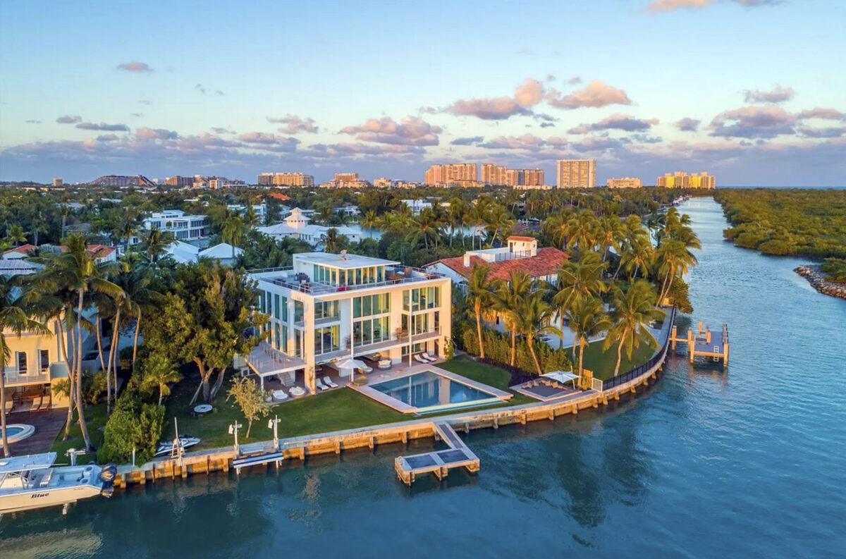 Lionel Messi alquiló casa a metros del agua en Miami