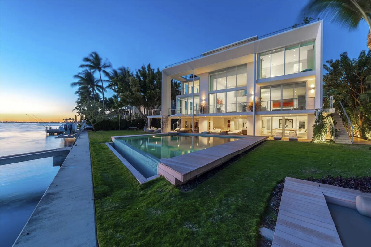 Lionel Messi pasa vacaciones en mansión de Miami junto a su familia