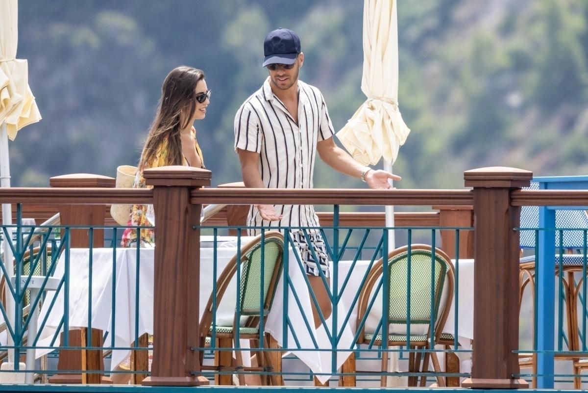 Marco Asensio y su novia disfrutan de vacaciones en Capri Italia