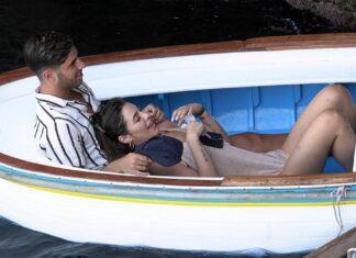 Marco Asensio y su novia Sandra vacacionan en Capri
