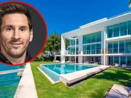 Messi pasa vacaciones familiares en lujosa mansión de 761 m2 en Miami