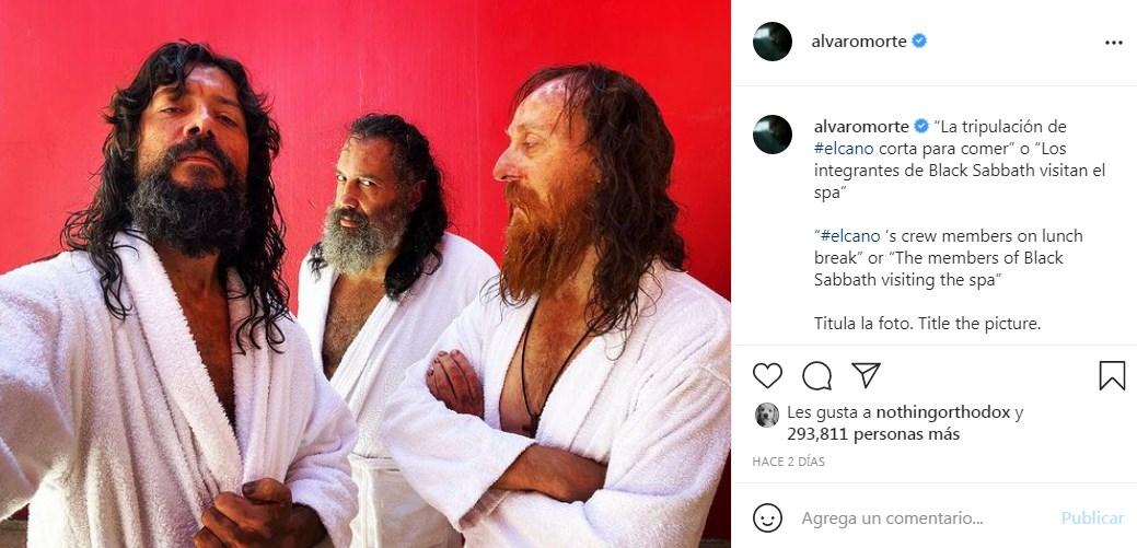 Modo barbudo Alvaro Morte cambia de look por rodaje de Sin Límites