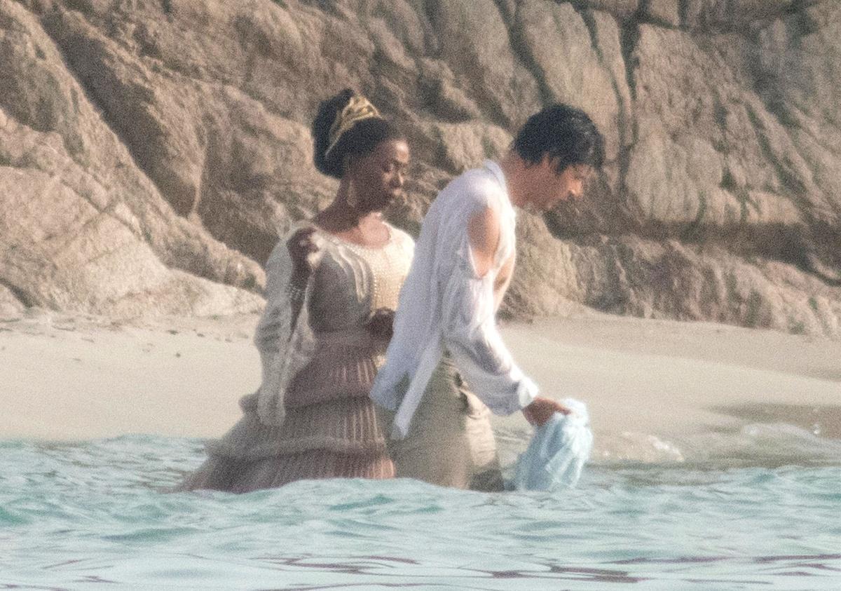 Tenemos primeras imágenes del rodaje de La Sirenita en Cerdeña Italia