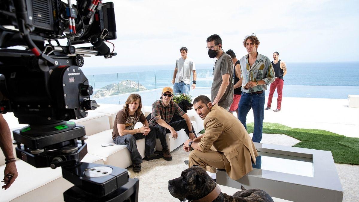 Making of de una escena