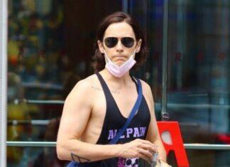 Jared Leto va al gym