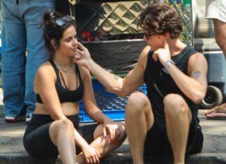 Camila Cabello con Shawn Mendes