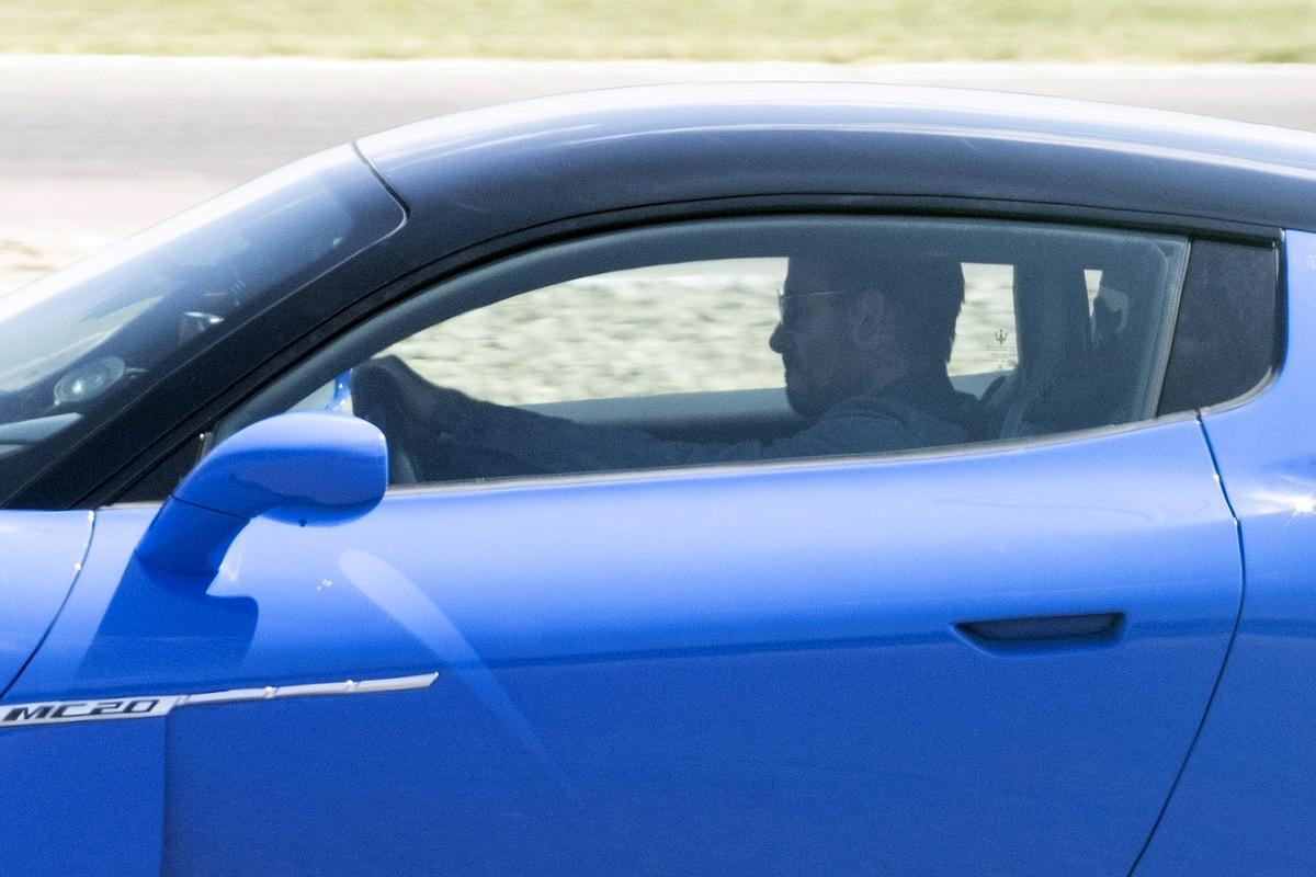 David Bekcham Maserati