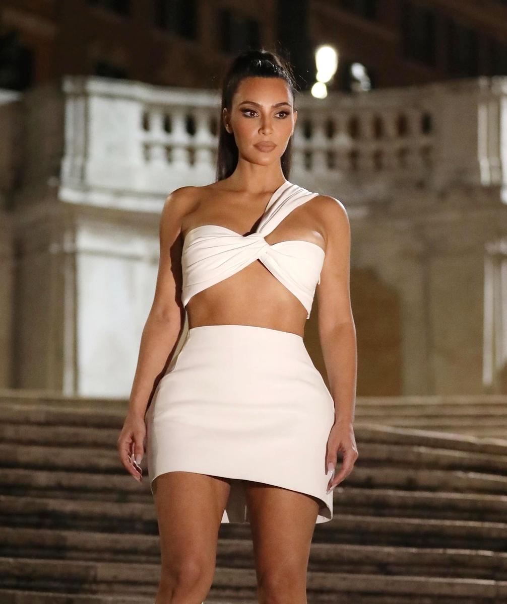 Kim Kardashian en Roma