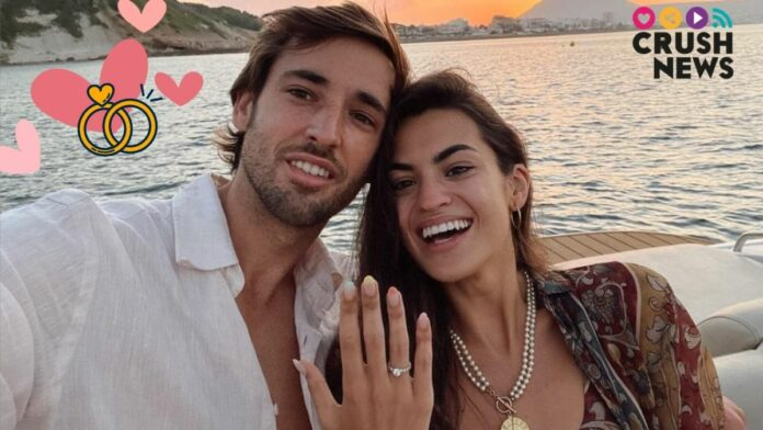 Marta Lozano se casa