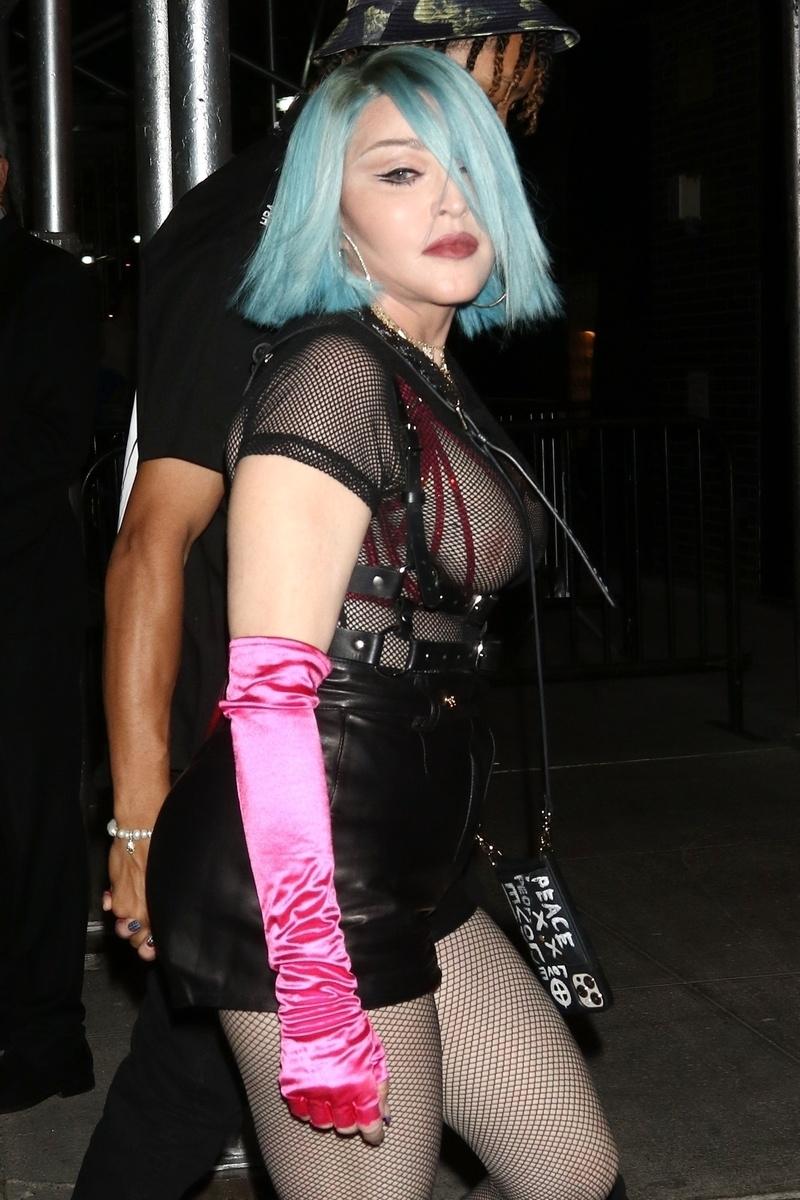 Madonna fiesta con su novio