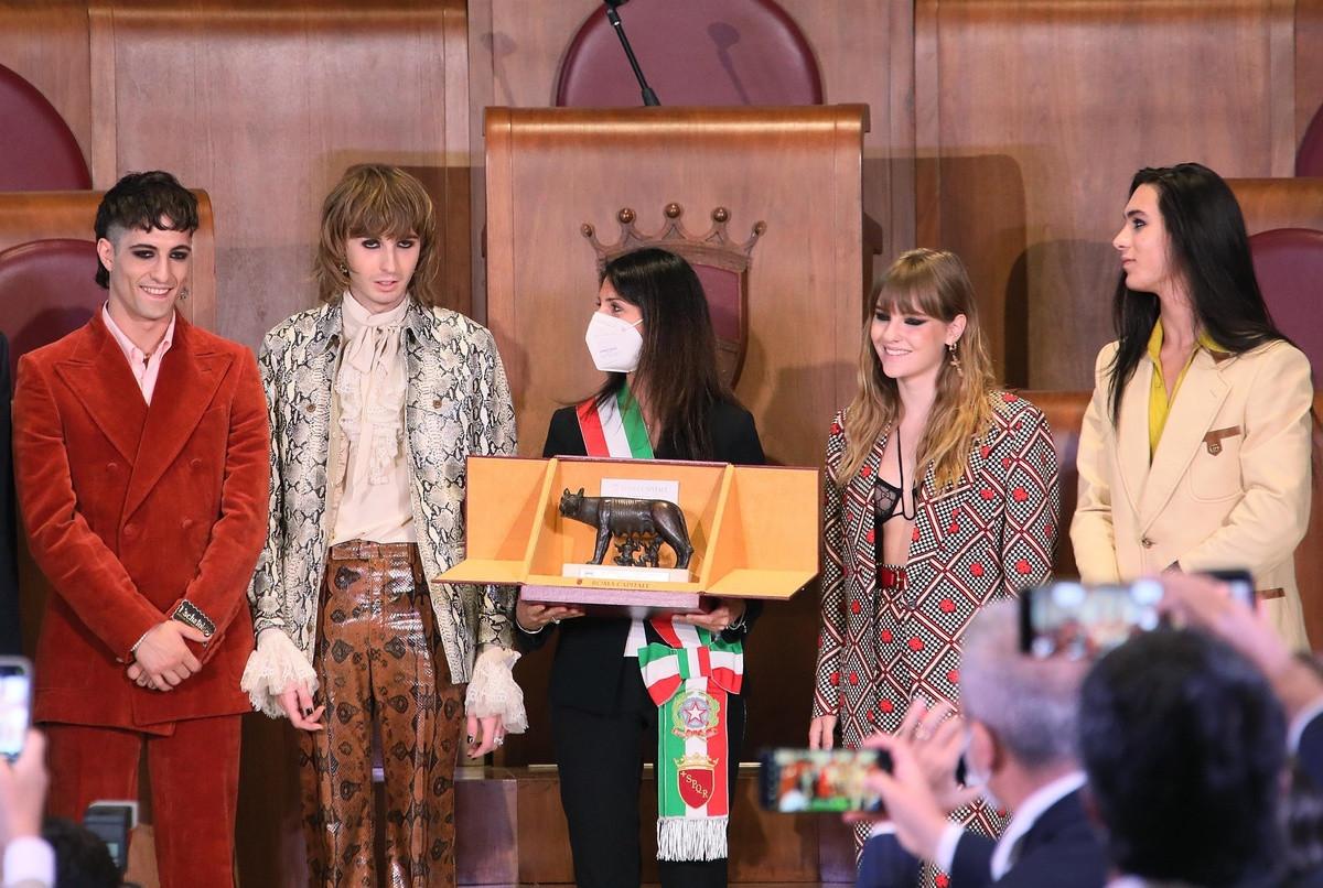Los Måneskin reciben un premio