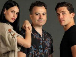 rodaje de Tin & Tina con Jaime Lorente y Milena Smith