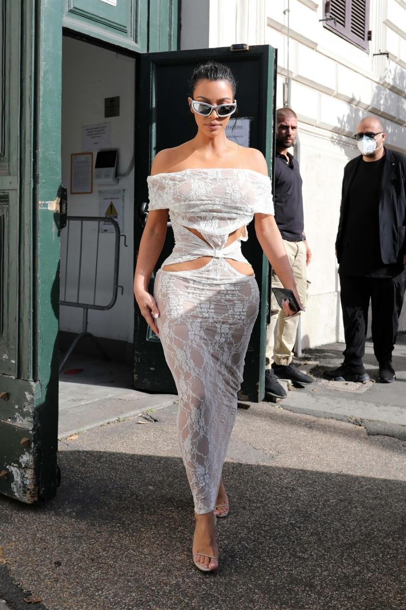 El truco de Kim Kardashian en el Vaticano