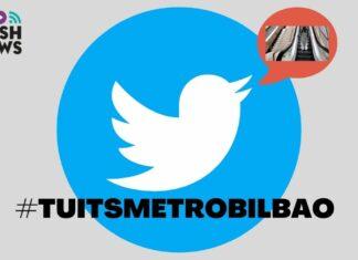 Portada de los tuits del metro de bilbao
