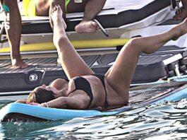 Anabel Pantoja desatada y desnuda en Ibiza
