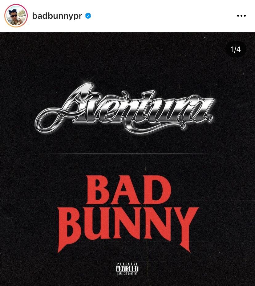 La nueva canción de Bad Bunny