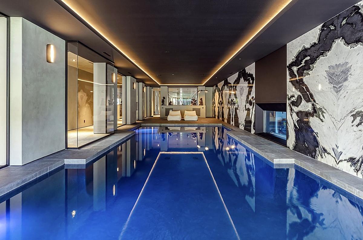Fotos del interior de la nueva mansión de The Weeknd en Bel-Air
