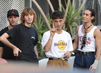 Damiano se enfada con los fotógrafos