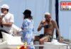 Neymar de fiesta en Ibiza a bordo de un yate