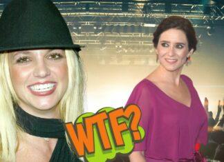 Ayuso se compara con Britney Spears (ambas en la foto) y las redes arden