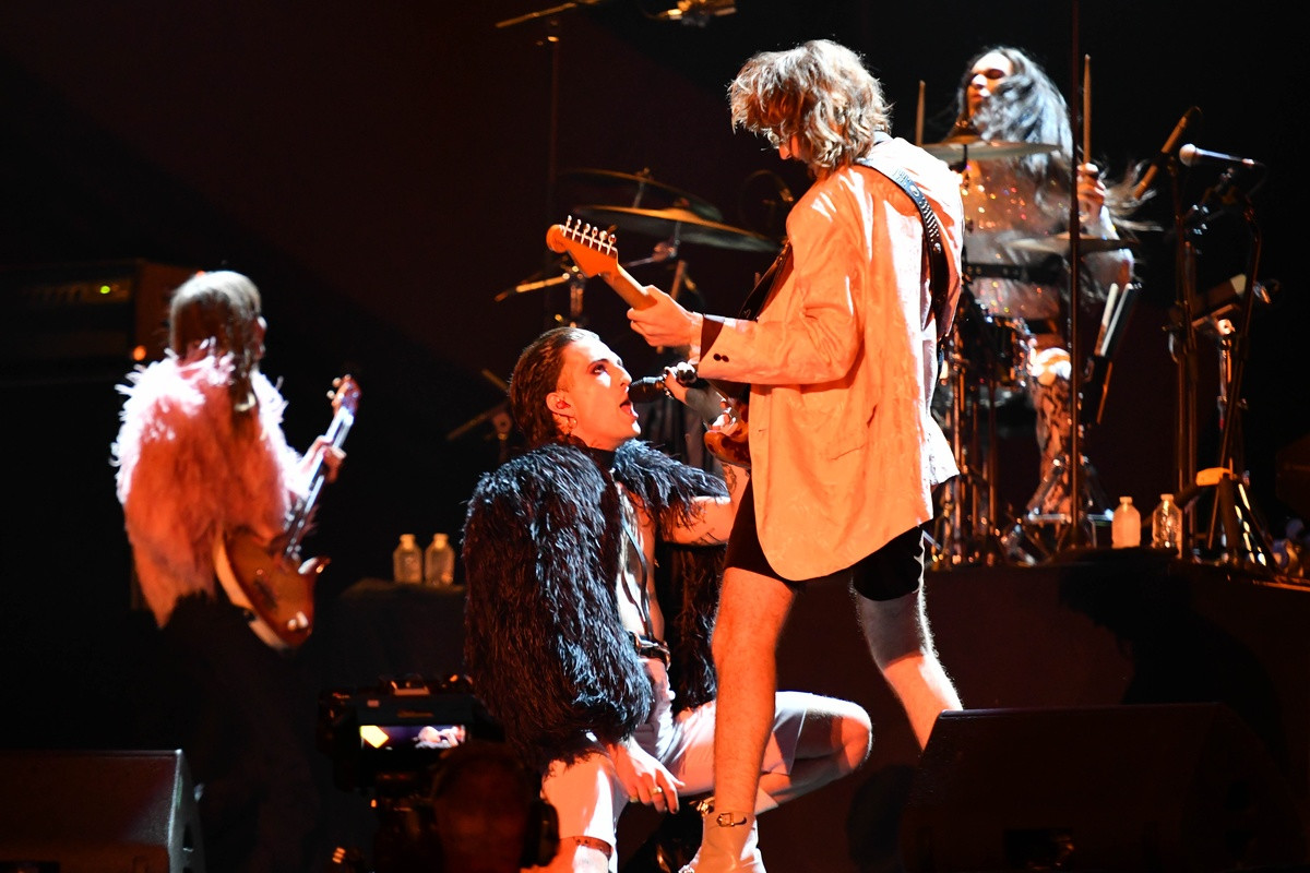Las fotos del concierto de Måneskin en París