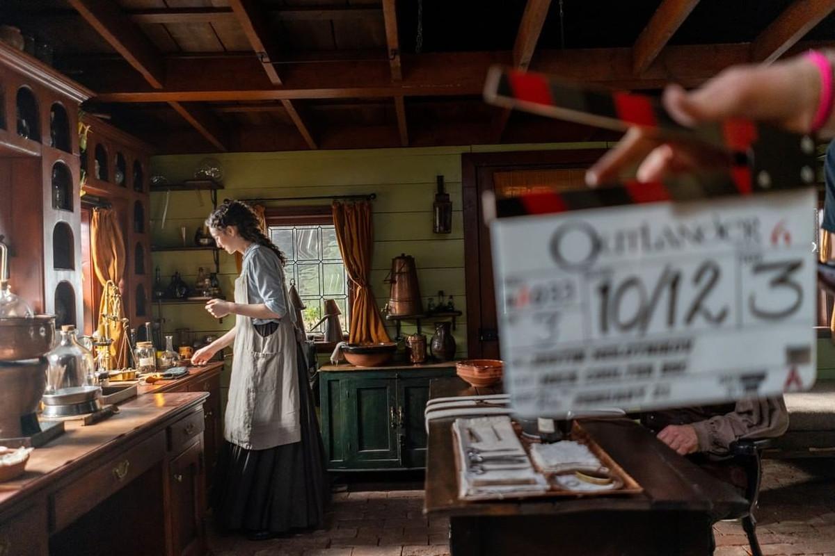 Las nuevas imágenes de la sexta temporada de Outlander