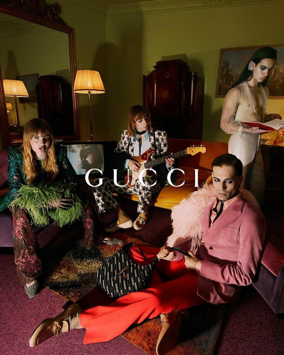 Måneskin es la nueva imagen de Gucci como concepto