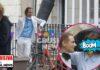 Wes Anderson y Tilda Swinton en el rodaje