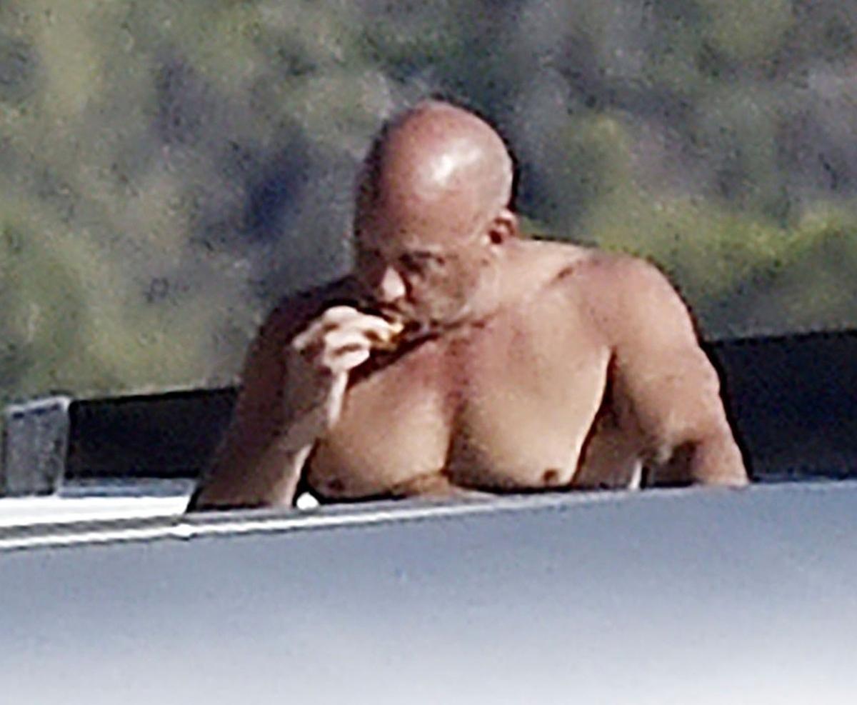 Vin Diesel en bañador