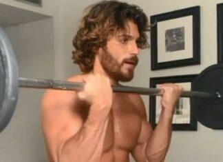 Can Yaman comparte video haciendo pesas