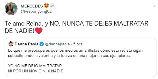 Danna Paola desmiente mentiras de medios amarillistas y su fandom la apoya a muerte