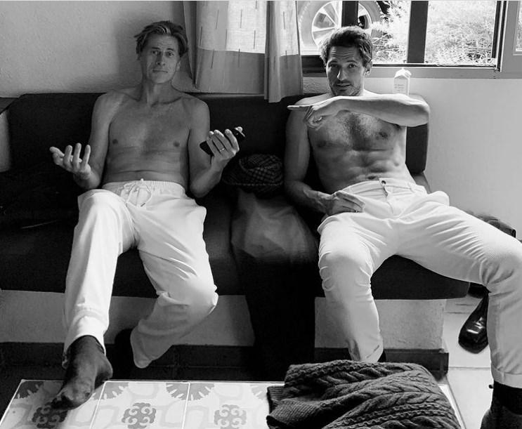 Foto de Andrés Velencoso junto a Mark Vanderloo enamora a todo IG