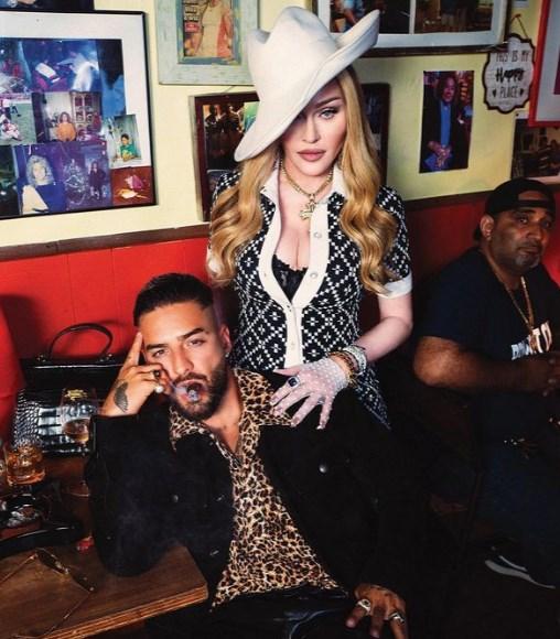 Maluma y Madonna en la portada de la revista Rolling Stone unidos por el éxito
