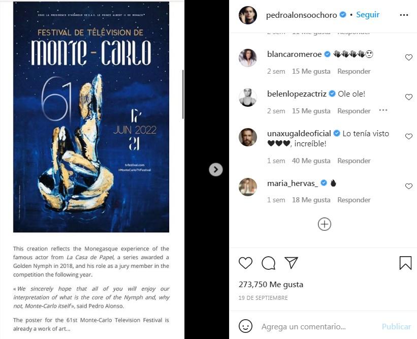 Obra de Pedro Alonso y Tatiana Djordjevic será el cartel oficial en prestigioso festival de televisión internacional