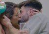 Bela e Isaac beso y mensajes