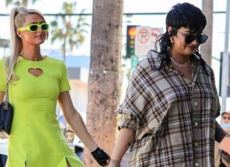 Demi Lovato y Paris Hilton amigas