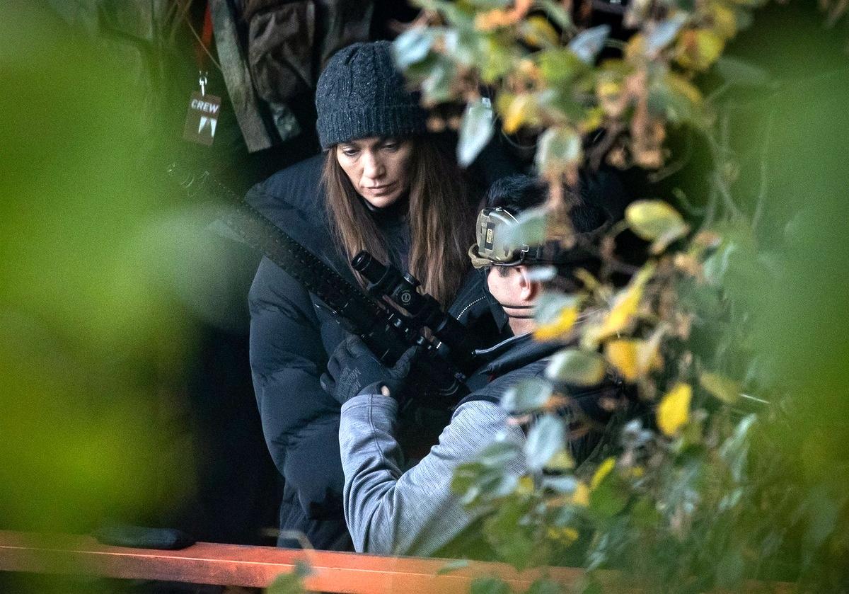 Jennifer Lopez rodaje