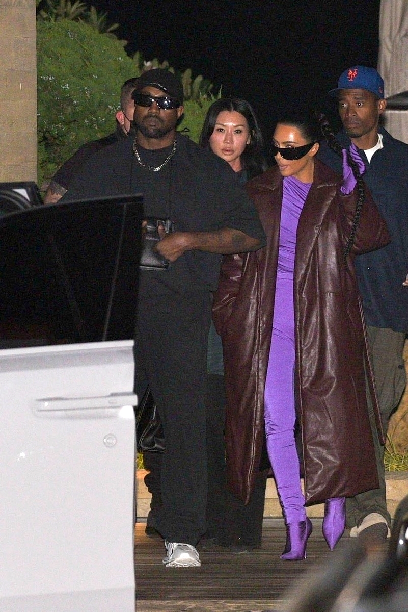 Kim Kardashian y Kanye West juntos
