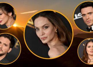 Angelina Jolie, Richard Madden, Kit Harington, Gemma Chan y Salma Hayek, quienes dan vida a algunos de los principales personajes de Eternals